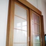 dveře posuvné dvoukřídlé